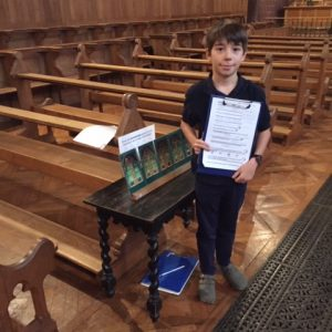 Rätselrallye in der Kirche